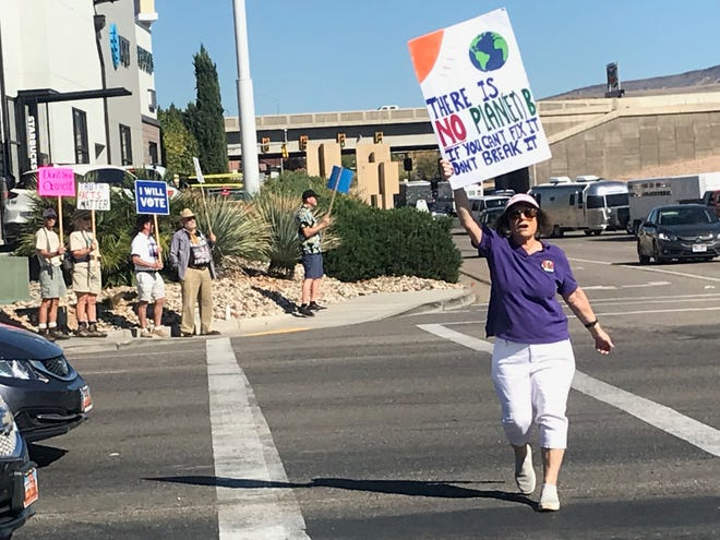"About three dozen St. George area residents held signs and marched Saturday along Telegraph Street in Washington City in a call for action on climate change. The group represented southwestern Utah as part of the international ""Rise for Cliamate"" movement, which saw marchers hit the streets in cities around the world, from the U.S. to Brazil, from Nigeria to Turkey and India. The rally was called just days before world leaders and climate activists meet in San Francisco for a global climate summit hosted by the United Nations."