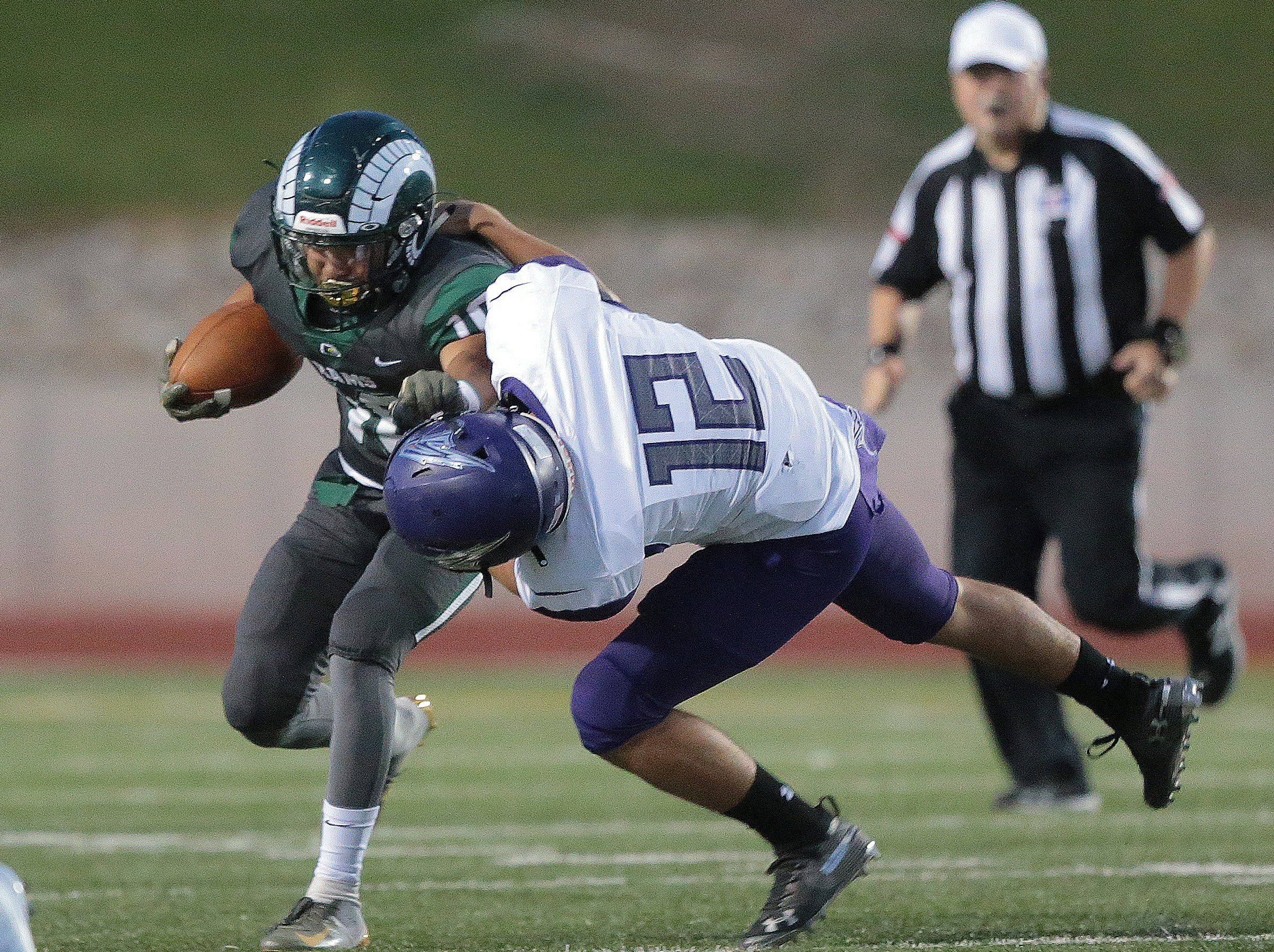 Montwood and Eastlake met Friday night at the SAC.