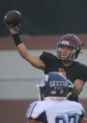Oxnard quarterback Vincent Walea was named the Player of the Year for the Pacific View League.