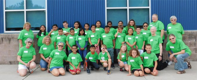 Church of the Resurrection (Episcopal)held its annual Reading Camp at Sabater Elementary School in Vineland.Campers improved their reading skills and enjoyed visits from special community guests during the week.