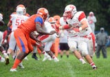 St. Joseph picked up their second win of the season topping Millville 34-6 in Hammonton on Saturday, September 8.