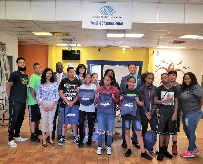 Teens from the Boys & Girls Club of Vineland learned about opioids from representatives of the Drug Enforcement Administration.
