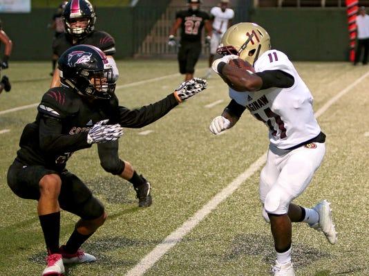 Saginaw At Wichita Falls High Football