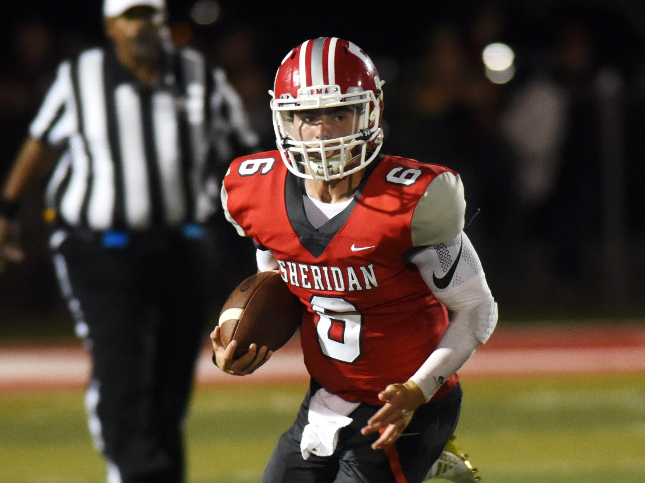The Sheridan offense has presented its fair share of problems to opposing defenses, as quarterback Ethan Heller has guided the Generals to 45 points per game.