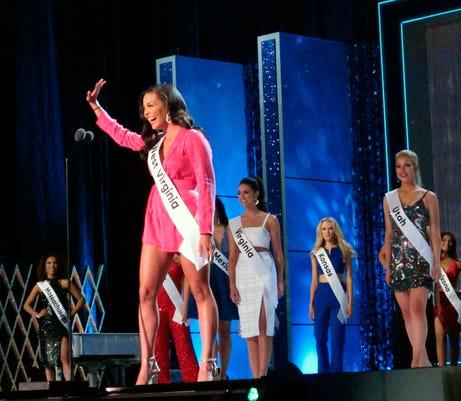 Ap Miss America A Usa Nj