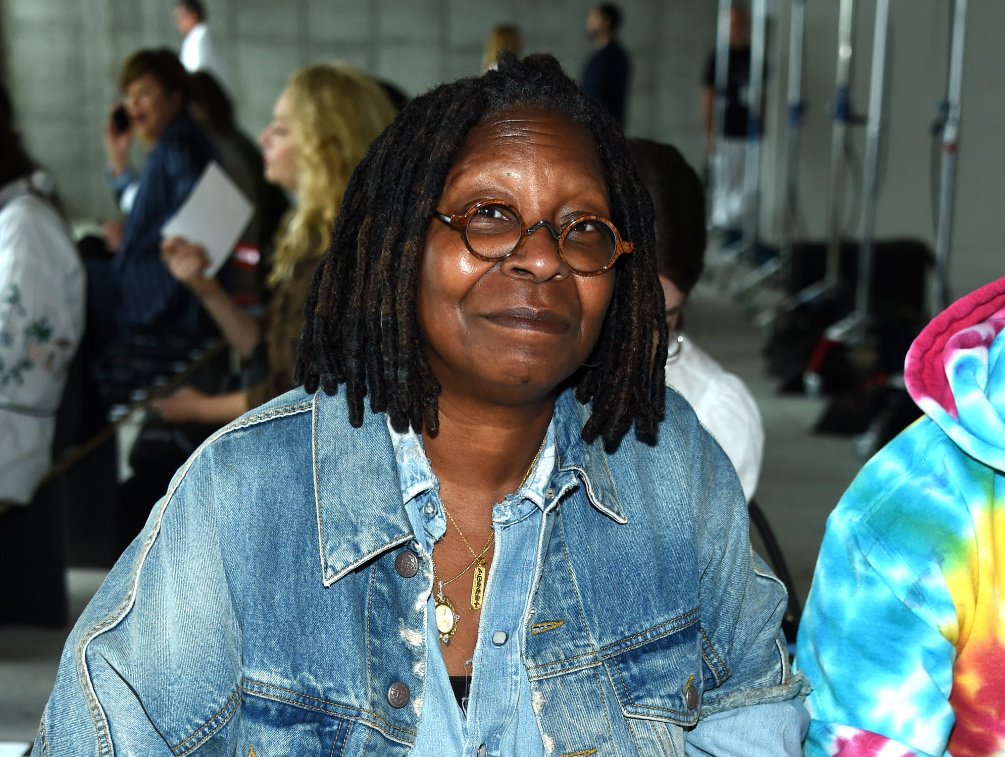 NEW YORK, NY - SEPTEMBER 08:  Whoopi Goldberg attends the R13 Front Row during New York Fashion Week on September 8, 2018 in New York City.  (Photo by Dimitrios Kambouris/Getty Images) ORG XMIT: 775216439 ORIG FILE ID: 1029380304