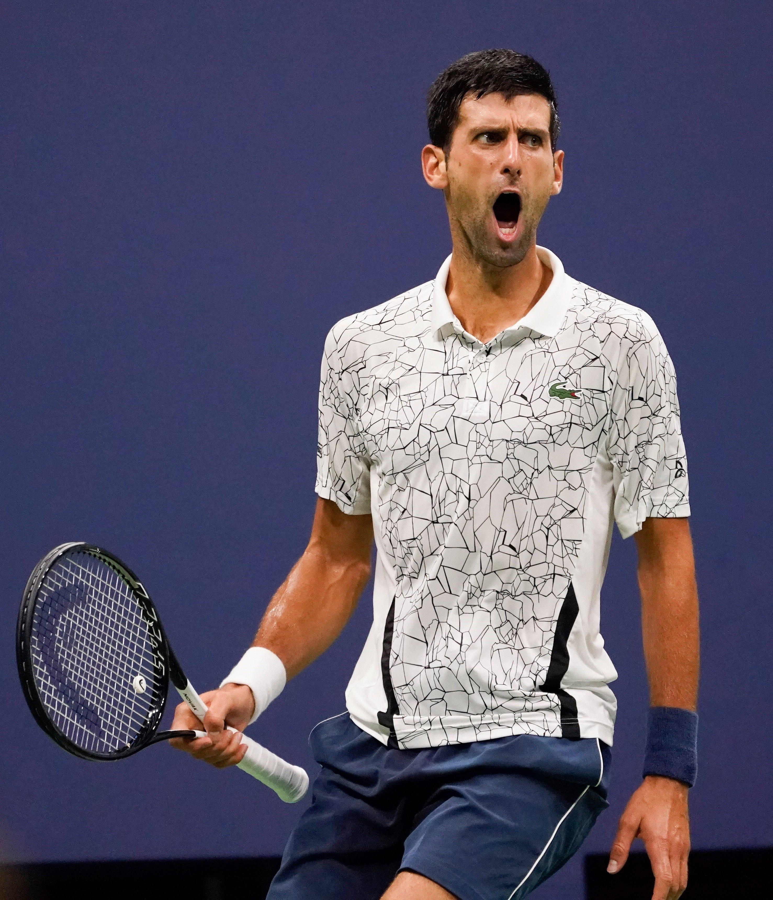 Usp Tennis Open 10 Novak Djokovic Cruises Kei Nishikori