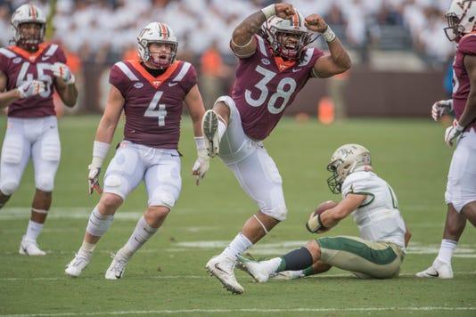 Ncaa Football William Mary At Virginia Tech