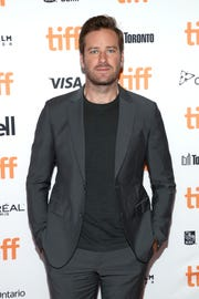 """Armie Hammer attends Friday's """"Hotel Mumbai"""" premiere at the Princess of Wales Theatre."""