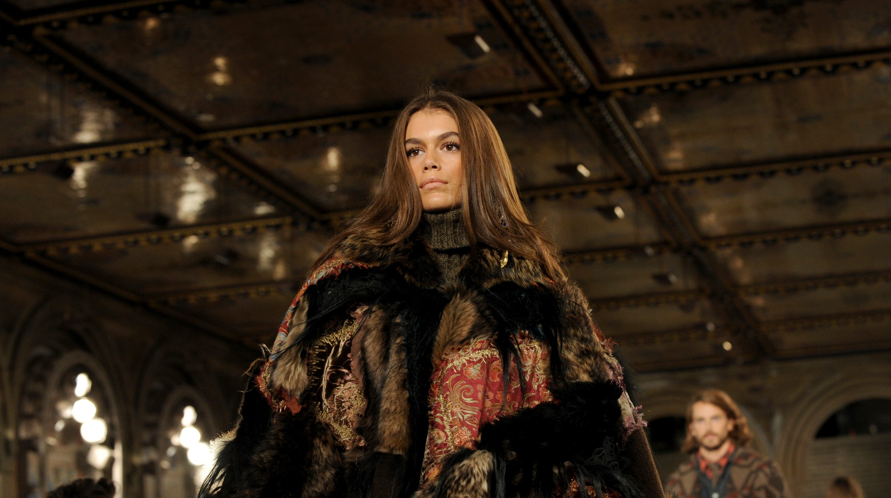 13b1985ba3cbf Ralph Lauren celebrates 50th anniversary at New York Fashion Week