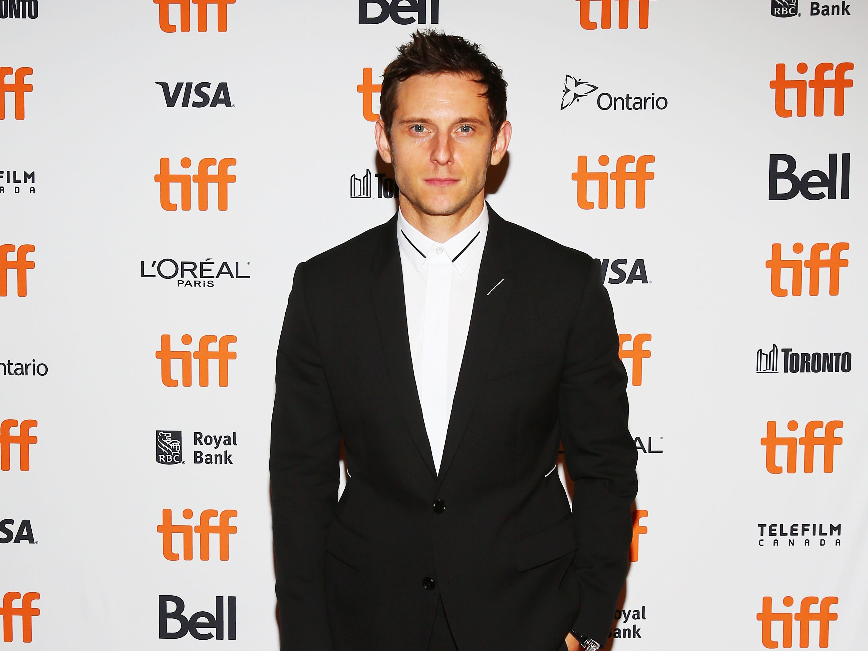 "Jamie Bell arrives Friday for the premiere screening of his new film,  ""Donnybrook."""