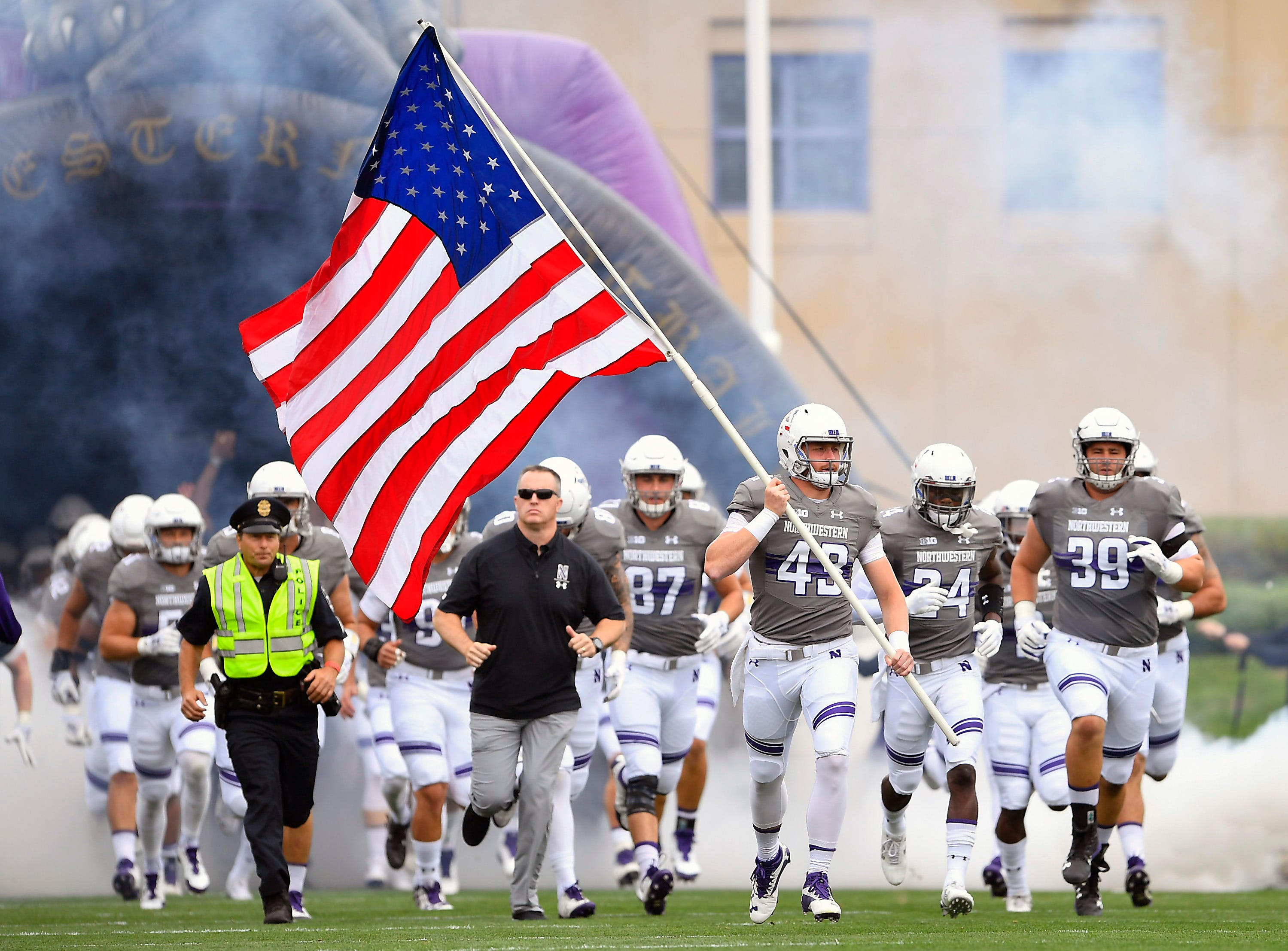 Northwestern takes the field against Duke.