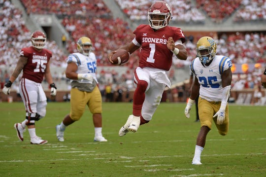 Kyler Murray was responsible for five touchdowns against UCLA last Saturday.