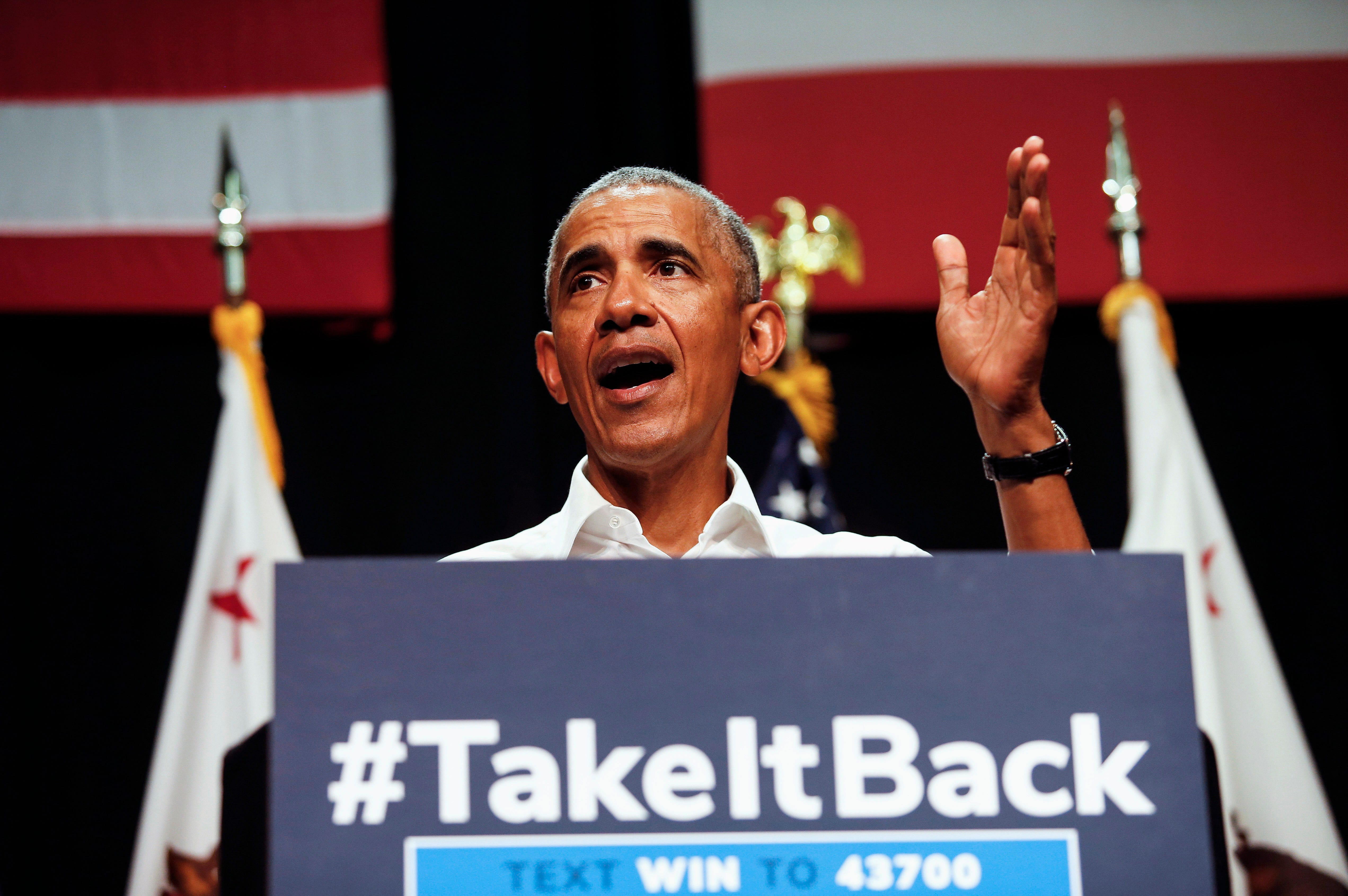 'We have a chance to restore some sanity': Obama takes softer approach toward Trump