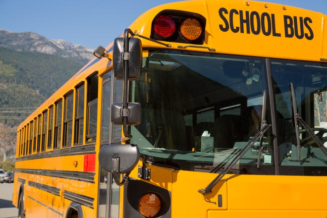 Students in a school district in Sealy, Texas, had to take control of their bus after the driver collapsed and died.