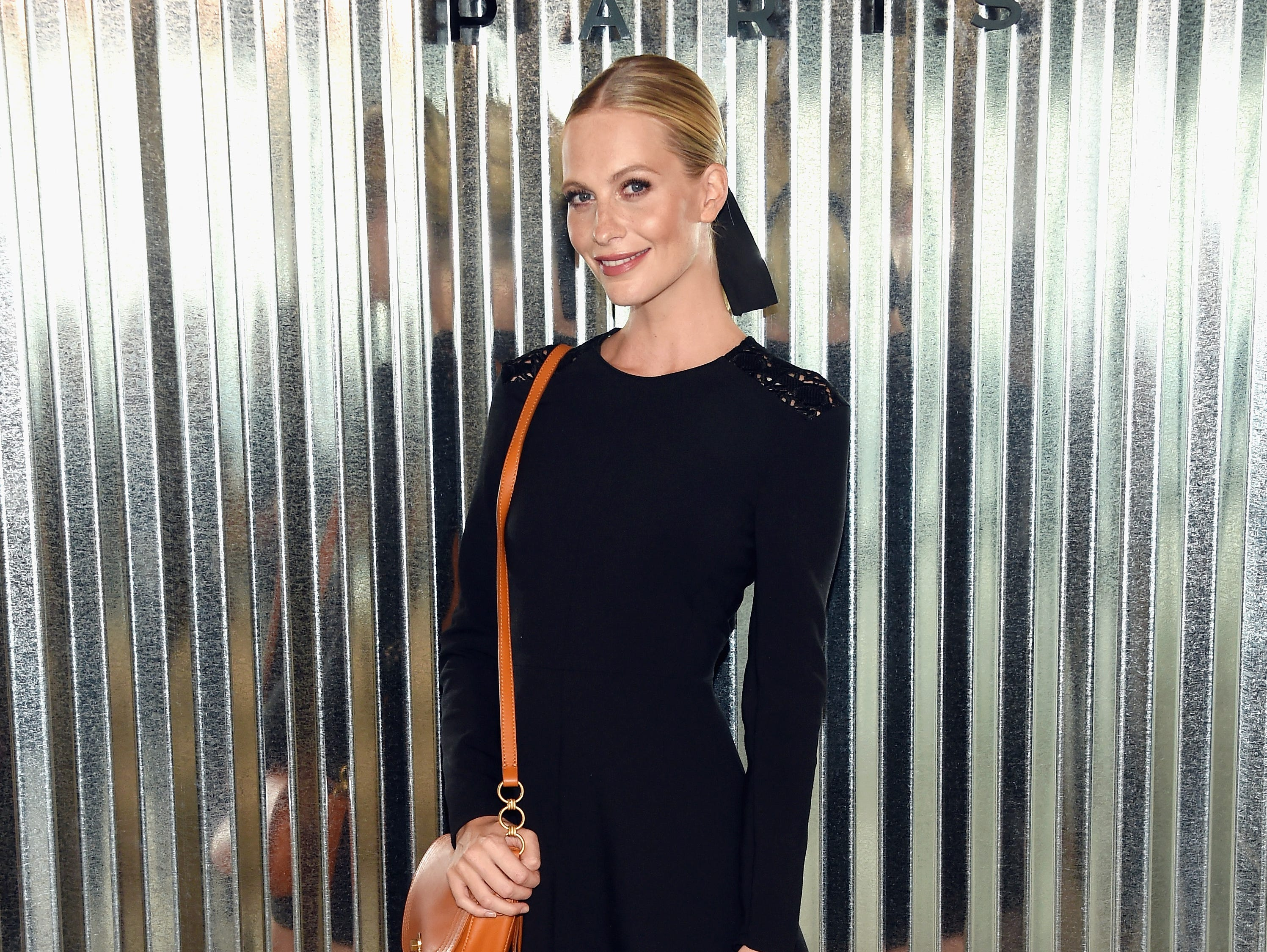 NEW YORK, NY - SEPTEMBER 08:  Poppy Delevingne attends the Longchamp Spring 2019 runway show during New York Fashion Week at World Trade Center on September 8, 2018 in New York, New York.  (Photo by Dimitrios Kambouris/Getty Images) ORG XMIT: 775216457 ORIG FILE ID: 1029388454