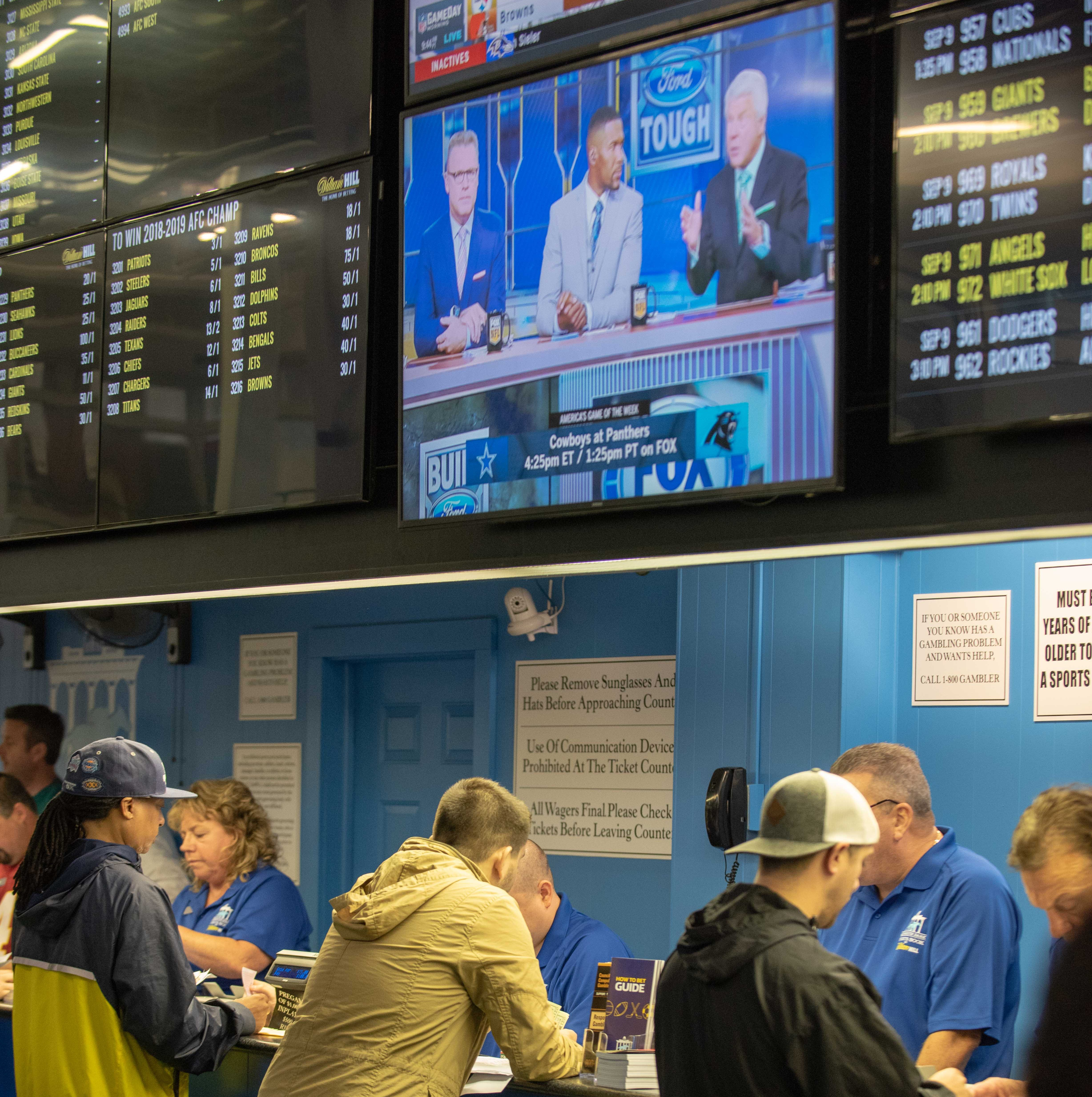 NJ sports betting: Monmouth Park lost $502K at sports book last month