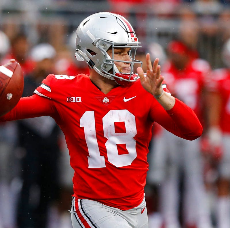 Ohio State QB Tate Martell reportedly in transfer portal