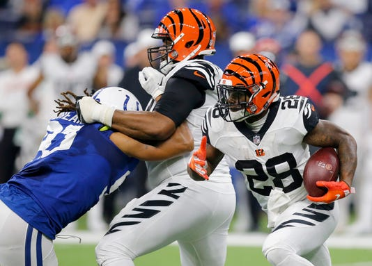 Cincinnati Bengals At Indianapolis Colts
