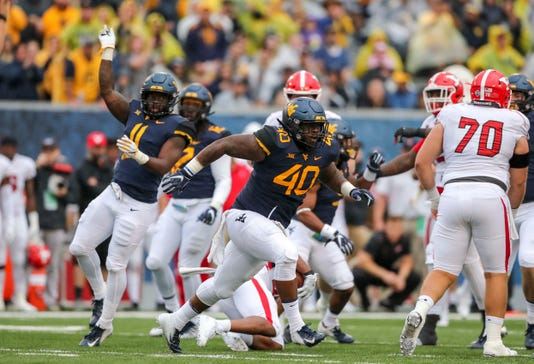 Ncaa Football Youngstown State At West Virginia
