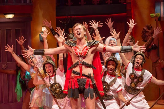 """A Funny Thing Happened on the Way to the Forum"" at Cincinnati Shakespeare Company 3"