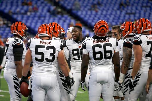 Cincinnati Bengals At Indianapolis Colts