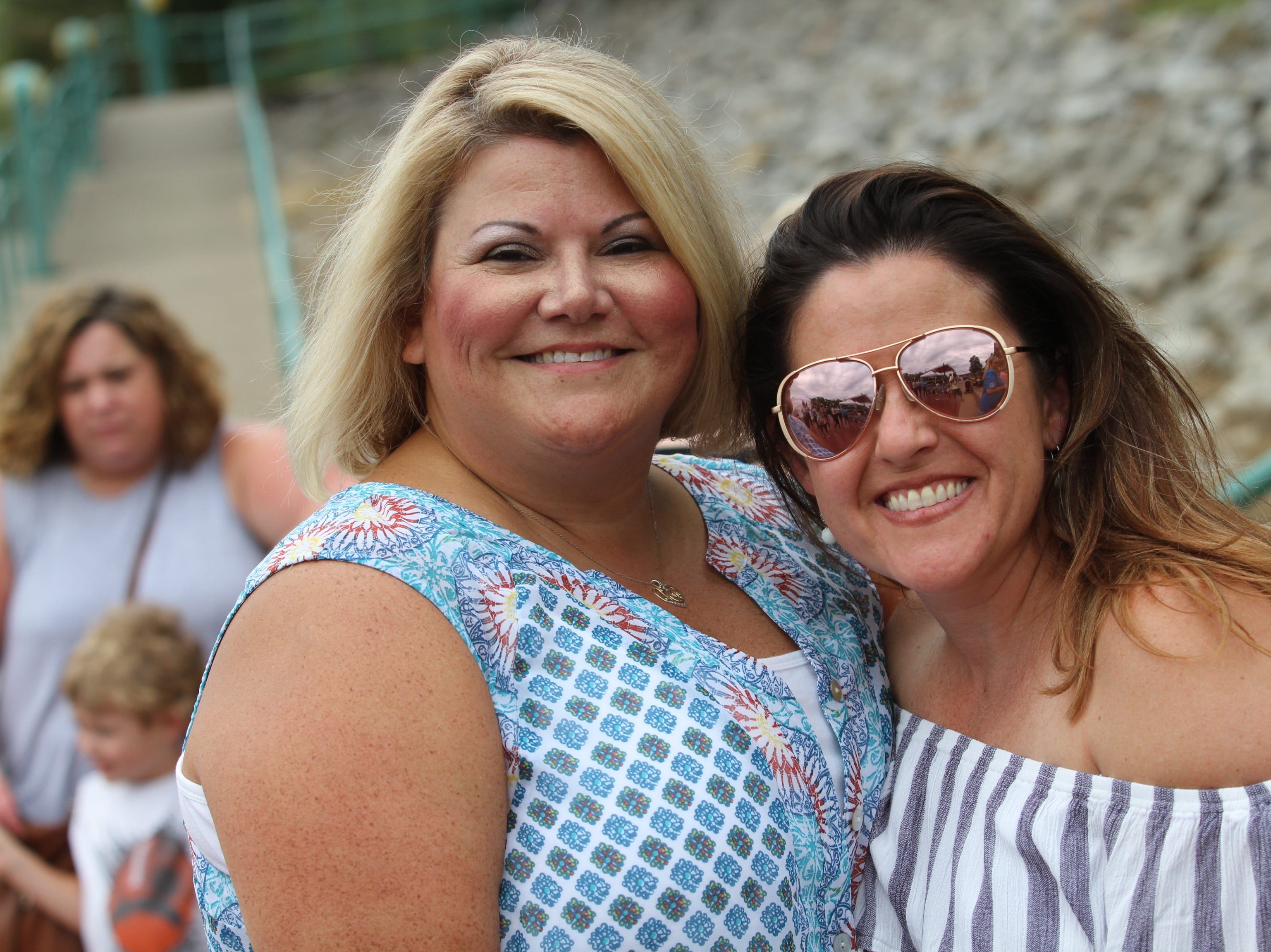 Angelia Butts and Jodie Wilkinson at Clarksville Riverfest on Saturday, Sept. 8, 2018.