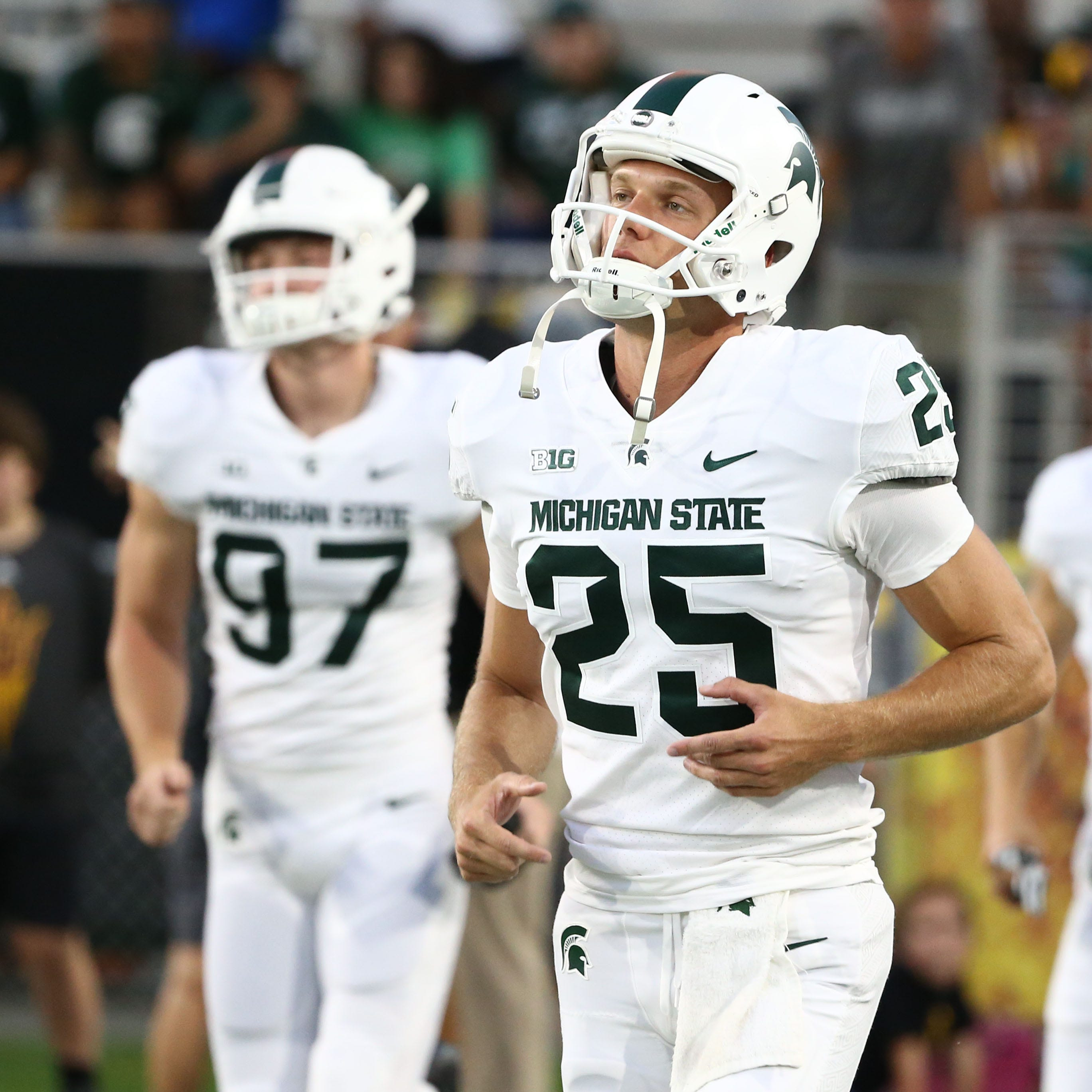 Michigan State football's Jake Hartbarger, Brandon Sowards granted a 6th year