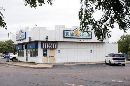 Three young men were shot and killed at this White Castle restaurant on Detroit's west side on West Warren at Gilbert just after midnight, Sunday, Sept. 9, 2018.