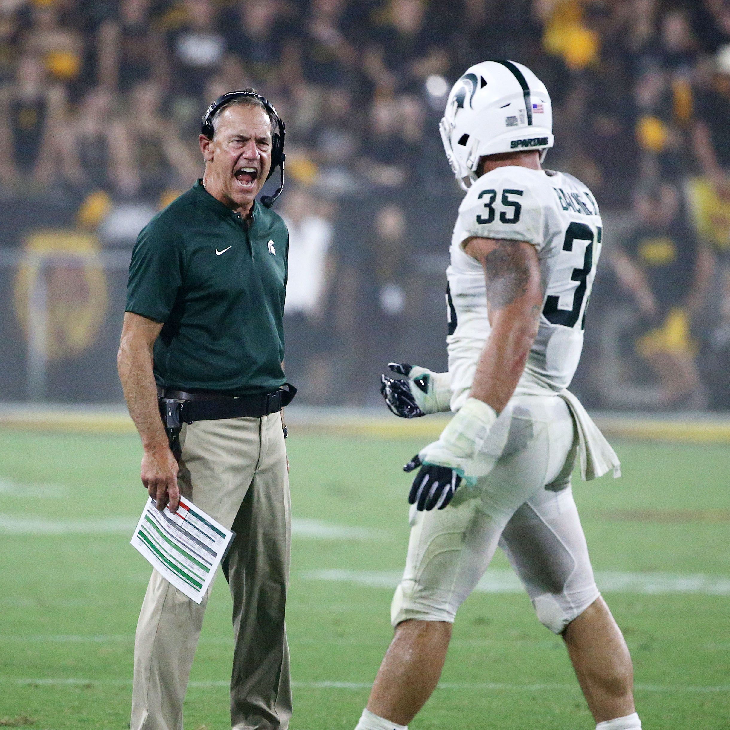Michigan State doomed by mental cramps in avoidable loss to Arizona State