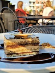 European tortes are thin on the ground in this area. At Lure, enjoy Ghyslain's L'Opera Cake with layers of almond genoise, espresso, coffee buttercream and chocolate ganache.