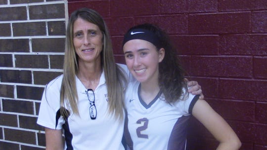 Riverdale volleyball coach Roni Hipp is getting the opportunity to coach daughter Brayden, a promising freshman and has the Raiders off to a 5-1 start in 2018.
