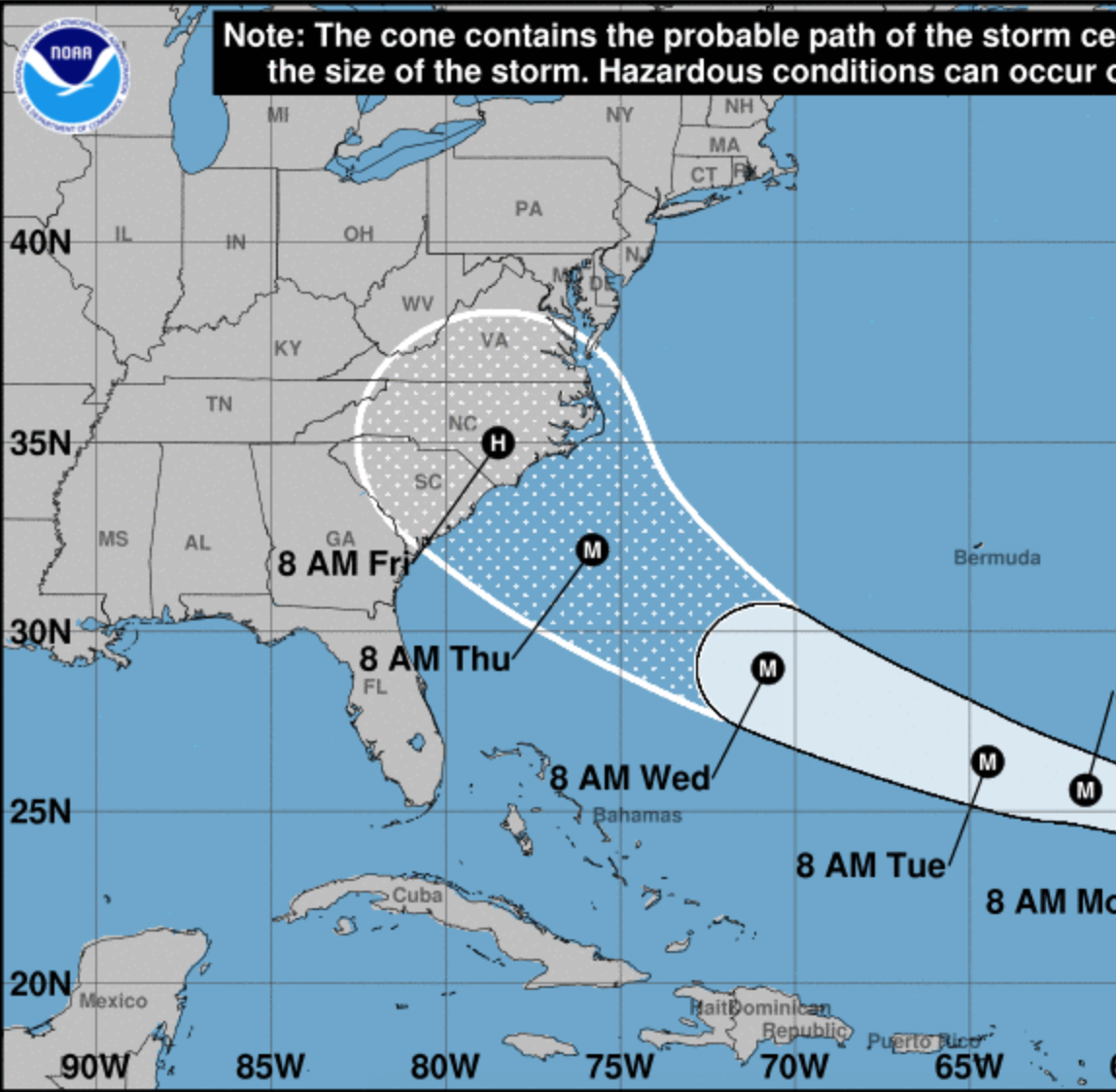 Hurricane Florence: Upgraded to hurricane, will Florence impact NJ?