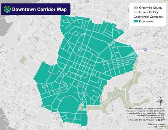 Downtown Plan Map
