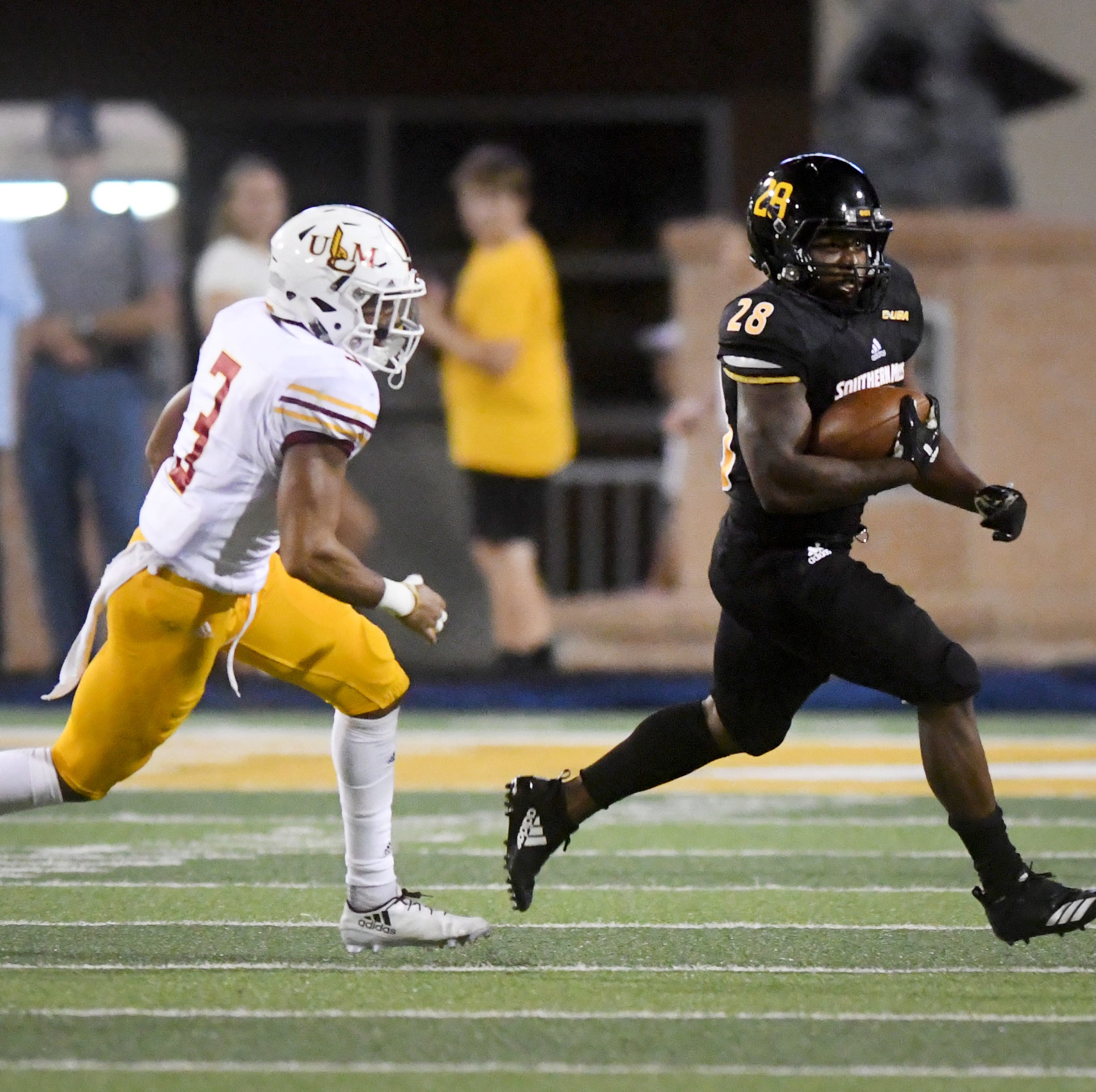 Southern Miss RB T'Rod Daniels announces on Twitter that he's transferring