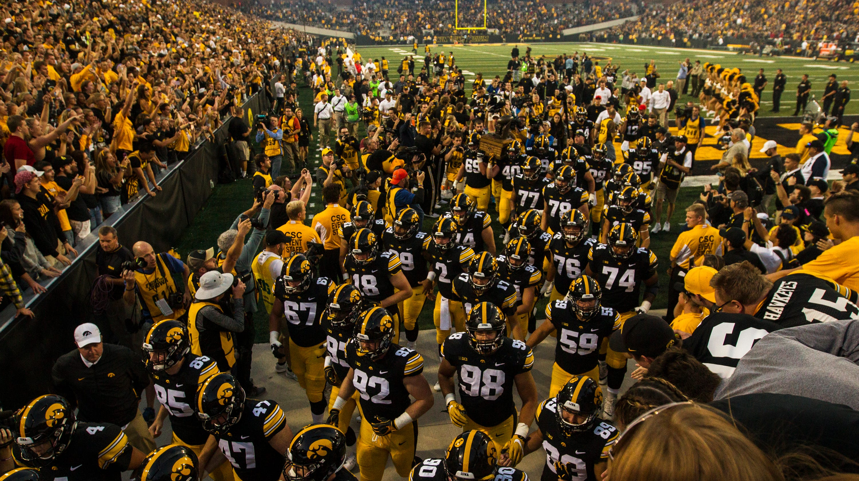 Iowa football: Breaking down Hawkeyes' travel roster for ...