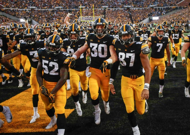 The Iowa football team is riding a hot defense right now, which led to Saturday's 13-3 win against Iowa State.