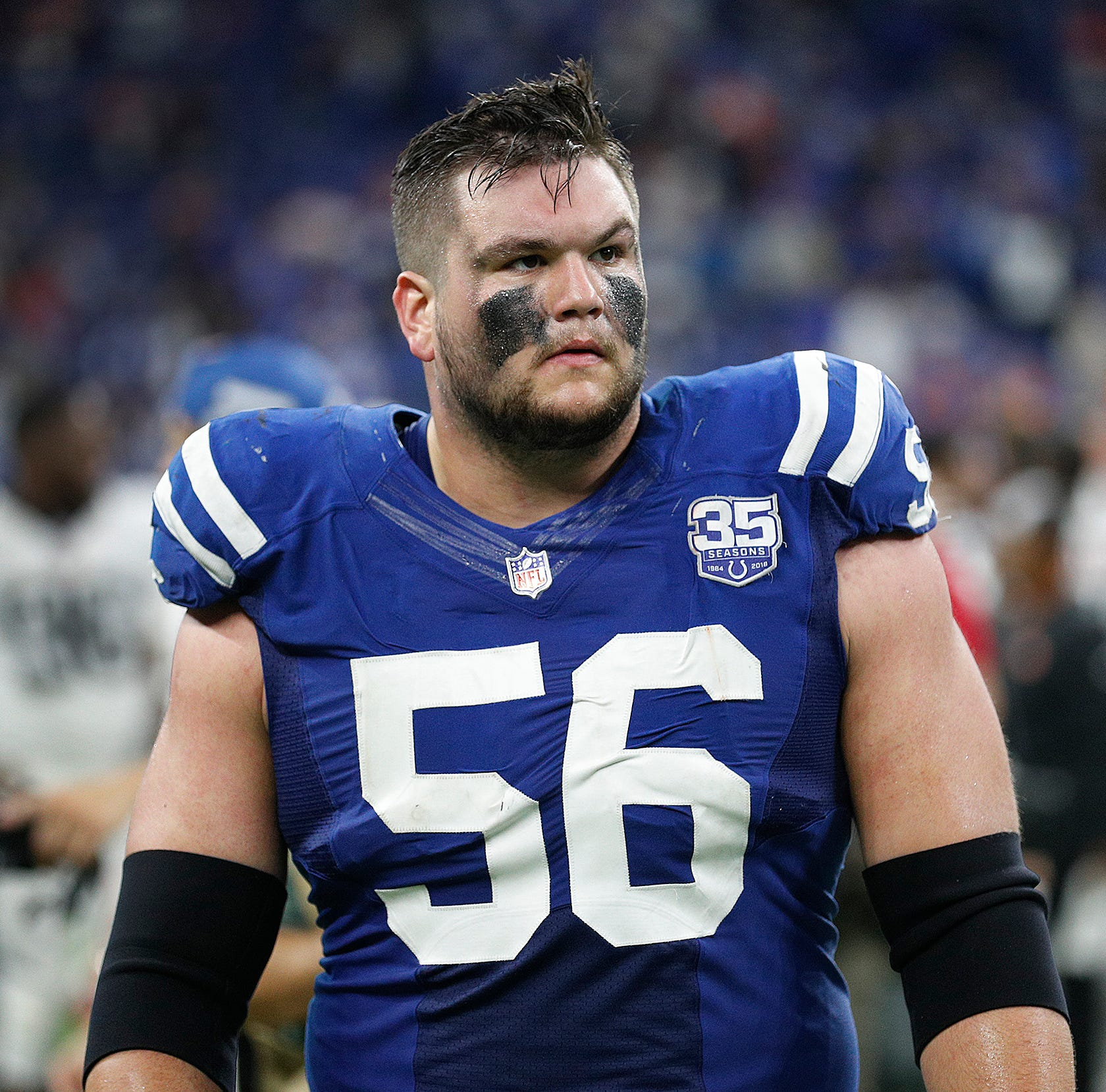 Colts guard Quenton Nelson fined $26,739 for hit during screaming video clip