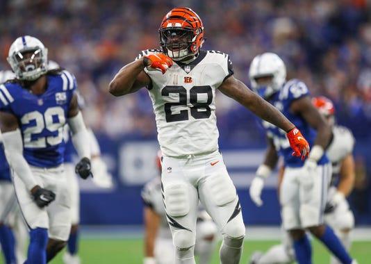 Photos Of Indianapolis Colts And Cincinnati Bengals First Regular Season Nfl Game 2018