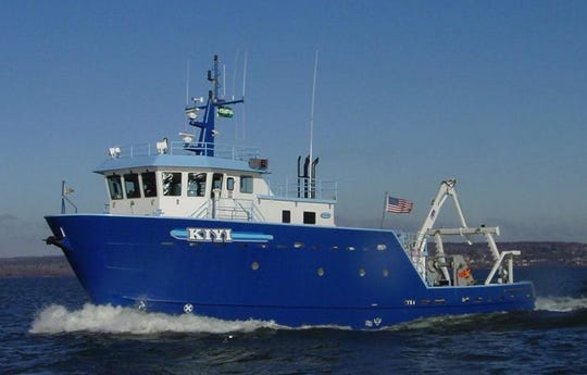 Joe Walters' ship, Research Vessel KIYI with the U.S. Geological Survey, rescued Cari Mews-Fryman, who lost her family in a kayaking accident.