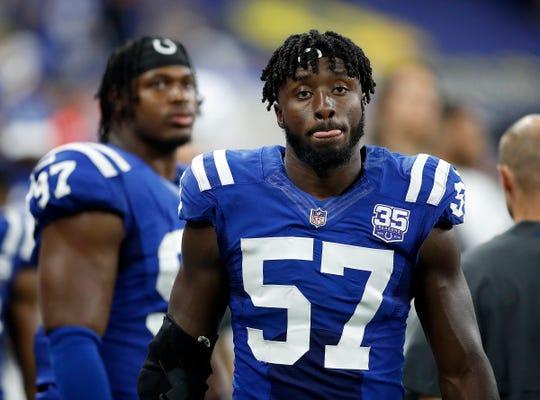 Colts defensive end Kemoko Turay.