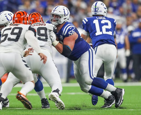 126219cd Colts Andrew Luck is unbeaten in nine starts vs. Titans