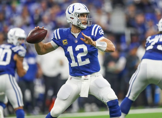 Photos Of Indianapolis Colts And Cincinnati Bengals First Regular Season Nfl Game 2018