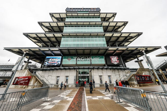 The Indianapolis Motor Speedway Pagoda.