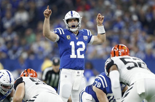Indianapolis Colts Play The Cincinnati Bengals In Their 2018 Season Opener