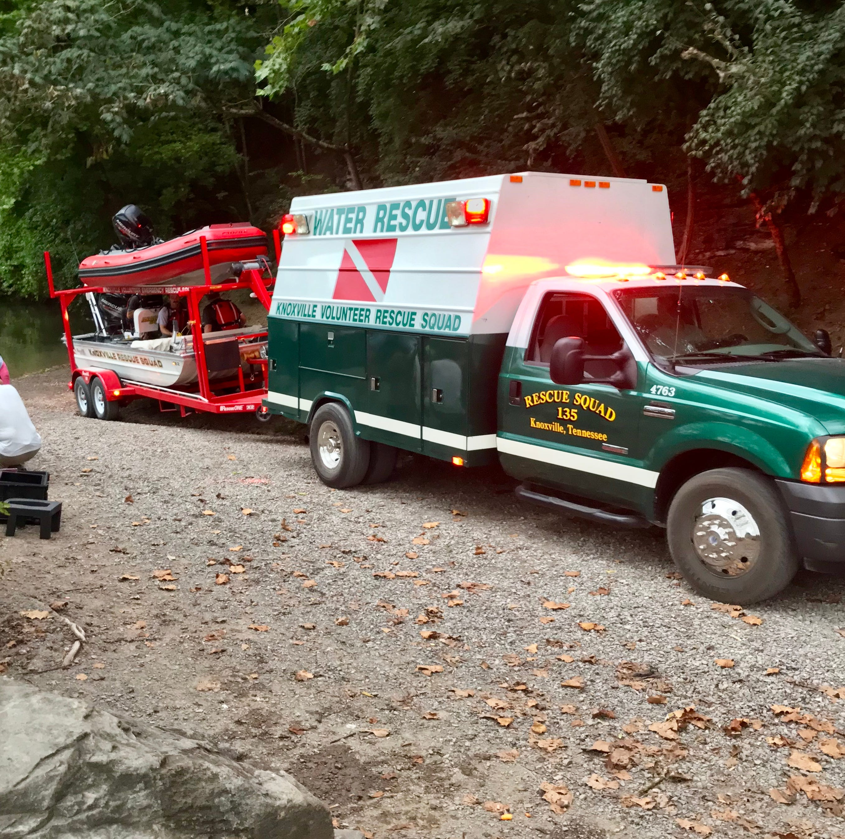 Rescue crews suspend search for possible drowning victim at Fort Dickerson Quarry