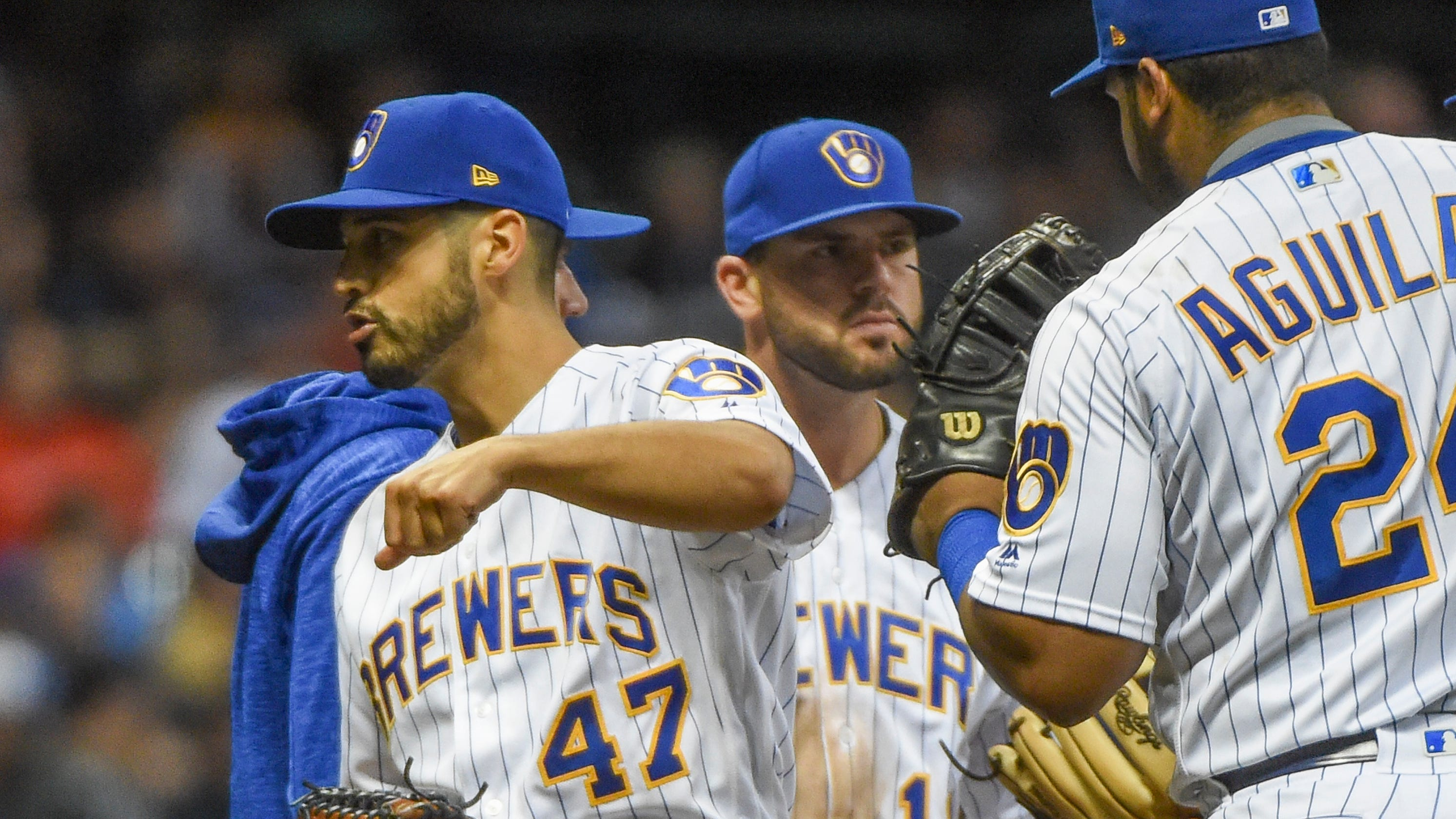 Gio Gonzalez Could Be Brewers Wild Card In Securing Wild Card Berth