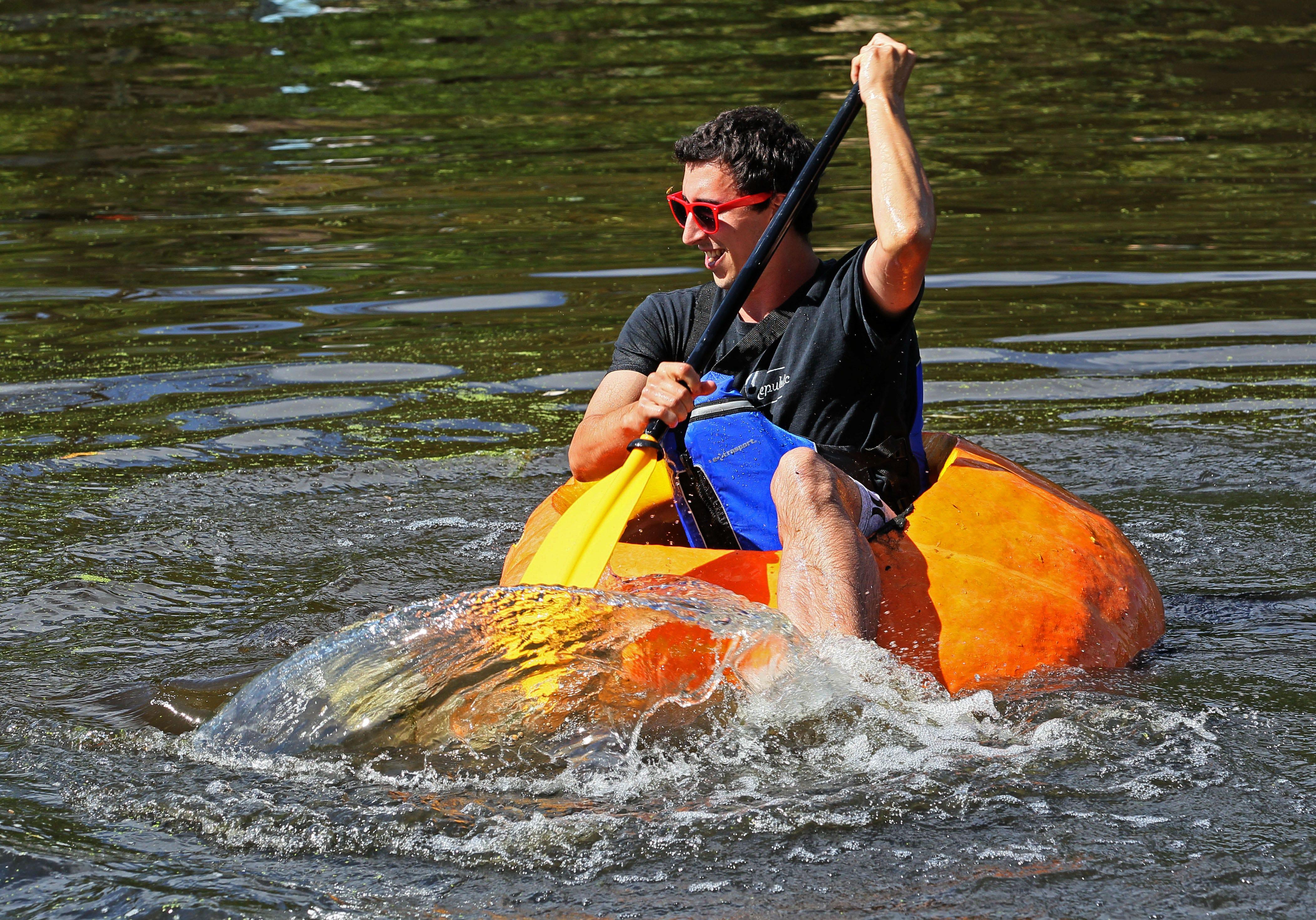 The Pumpkin Regatta sets sail this weekend during the Cedarburg Wine & Harvest Festival.