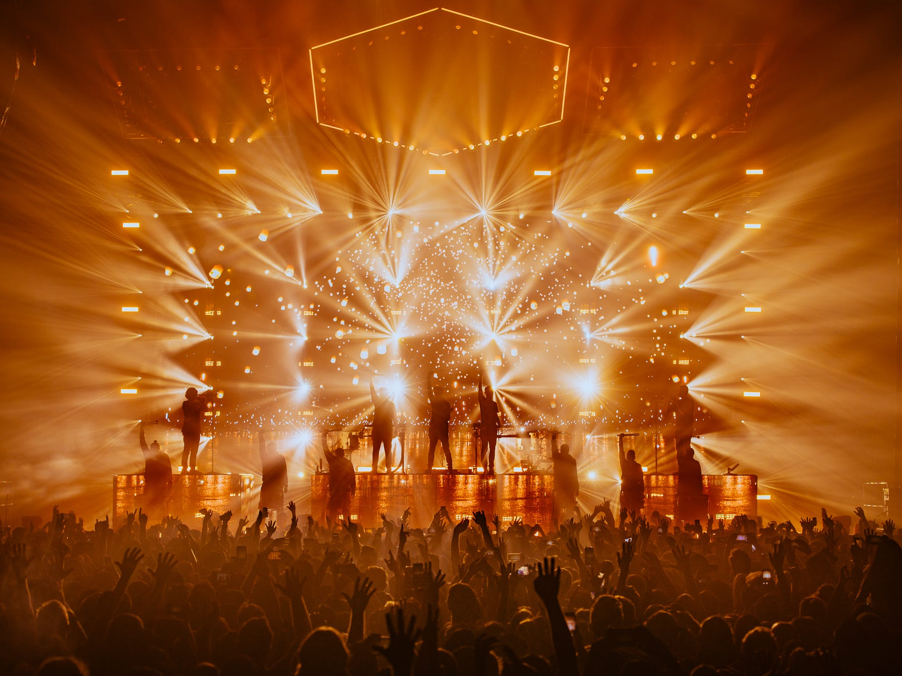EDM duo Odesza will bring its elaborate live show to Jawbreaker Festival Oct. 28, complete with a drum line and horn section.