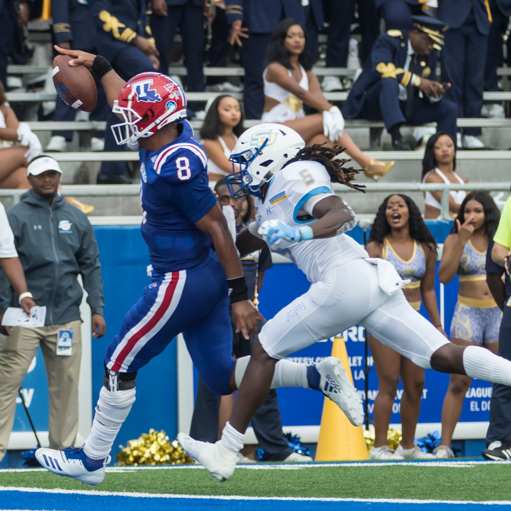 Smith's career night leads LA Tech in rout over Southern in home opener